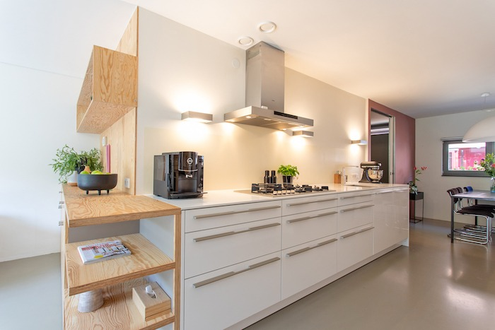 project afbeelding vanModernisering nieuwbouw woning Amsterdam