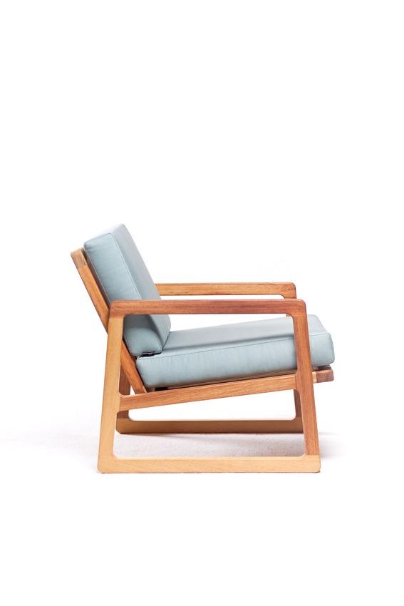project afbeelding vanDE JUUL fauteuil voor buiten